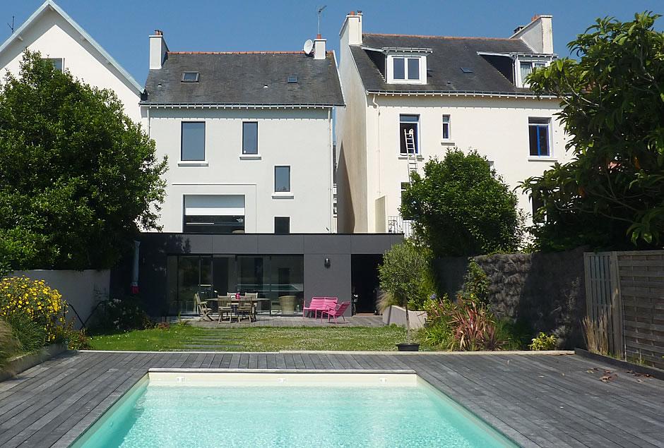 Extension maison de ville beautiful extension maison for Maison de ville grenoble